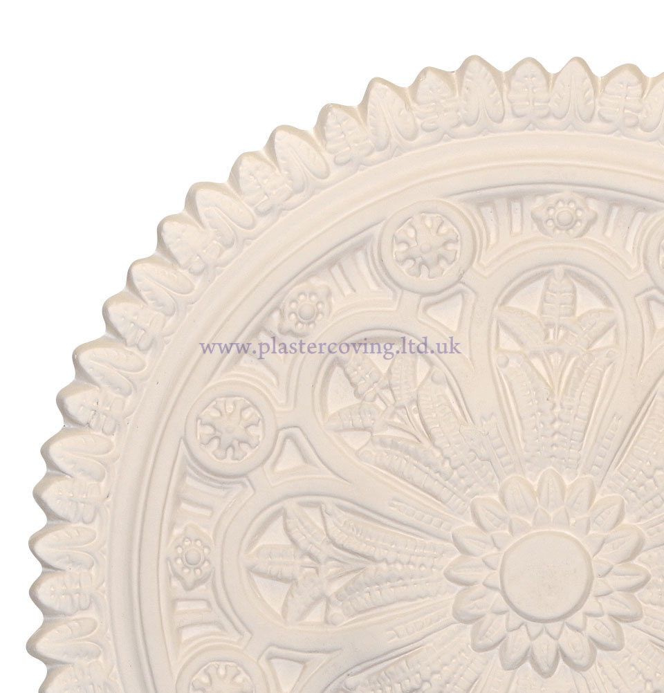 Old Aztec Plaster Ceiling Rose 800mm
